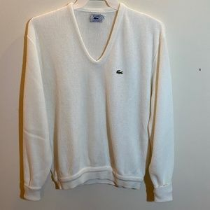 Men's Vintage Izod Lacoste Pullover Sweater XL